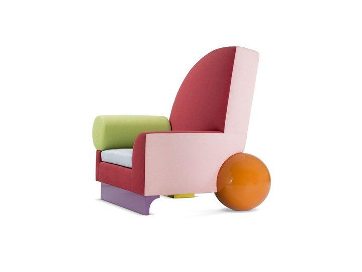 Peter Shire, fauteuil »Bel-Air«, 1982 © Peter Shire © Vitra Design Museum, photo: Jürgen Hans