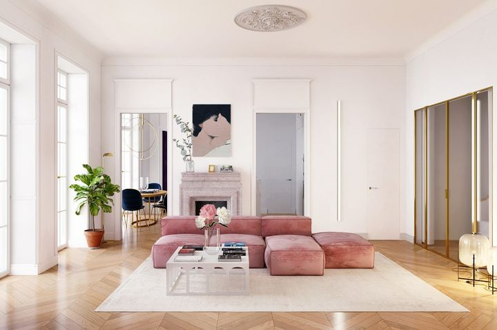 Parisian Apartment, New York