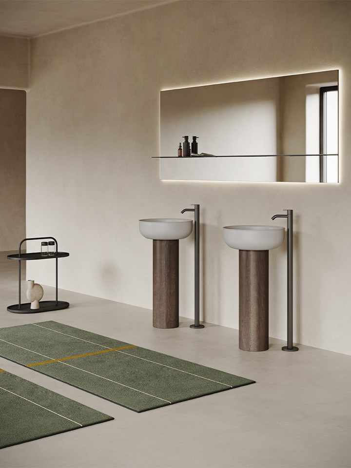 Essential and Sculptural: Prime Freestanding by Inbani