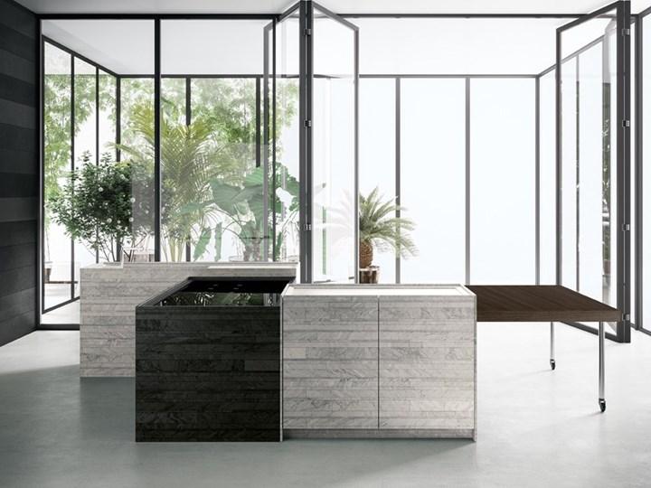 Cucina componibile 'Combine' di Piero Lissoni per Boffi