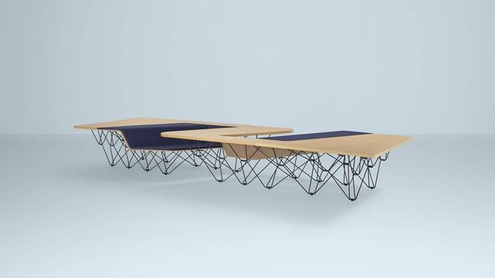 ©Prooff - Workspace furniture - SitTable - design by Ben van Berkel – UNStudio