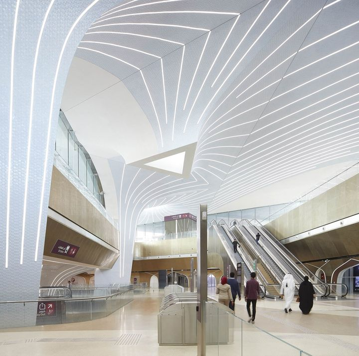 Doha Metro Network_Qatar_©Hufton+Crow_026_Msheireb
