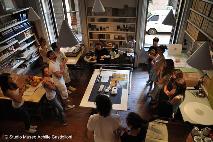 Fondazione Achille Castiglioni, stanza tecnigrafi