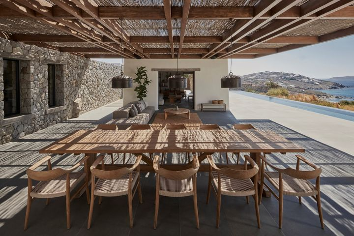 Villa Mandra, Mykonos, 2021 - Terrace