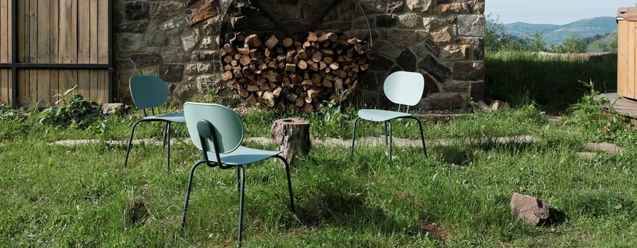 Hari Chair by Ondarreta Goes Outdoor