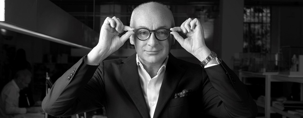 """Piero Lissoni: """"The future of design? A balance between rationality and anarchy""""."""