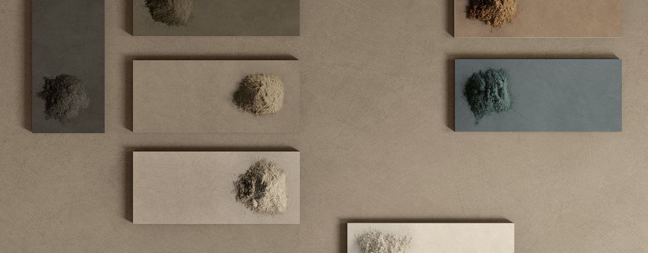 The New Tile Collection by Atlas Concorde and Matteo Brioni