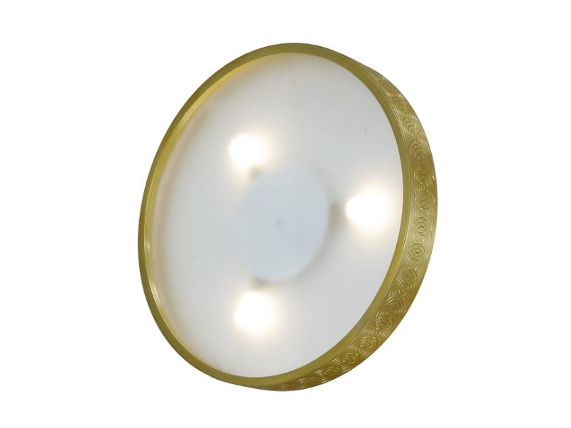 Éclipse In Ottone Patinas Mano Led G9Applique A Lighting Fatta VqpMSUGz