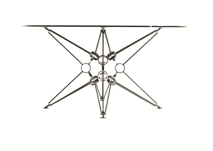 Bobois Pranzo Rotondo 8 Π In Vetro Da Acciaio Roche Tavolo E rdxhQCts