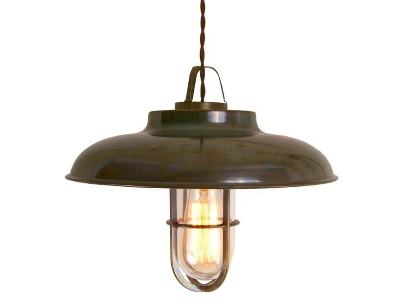 Direct light handmade brass pendant lamp TYZER by Mullan Lighting
