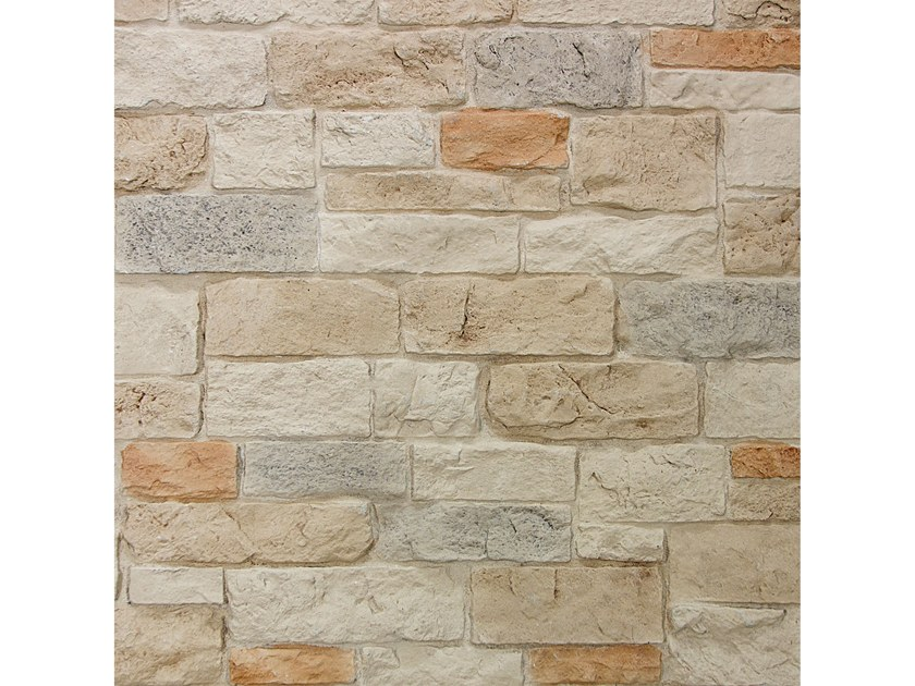 Reconstructed stone wall tiles BERGAMO by Decor