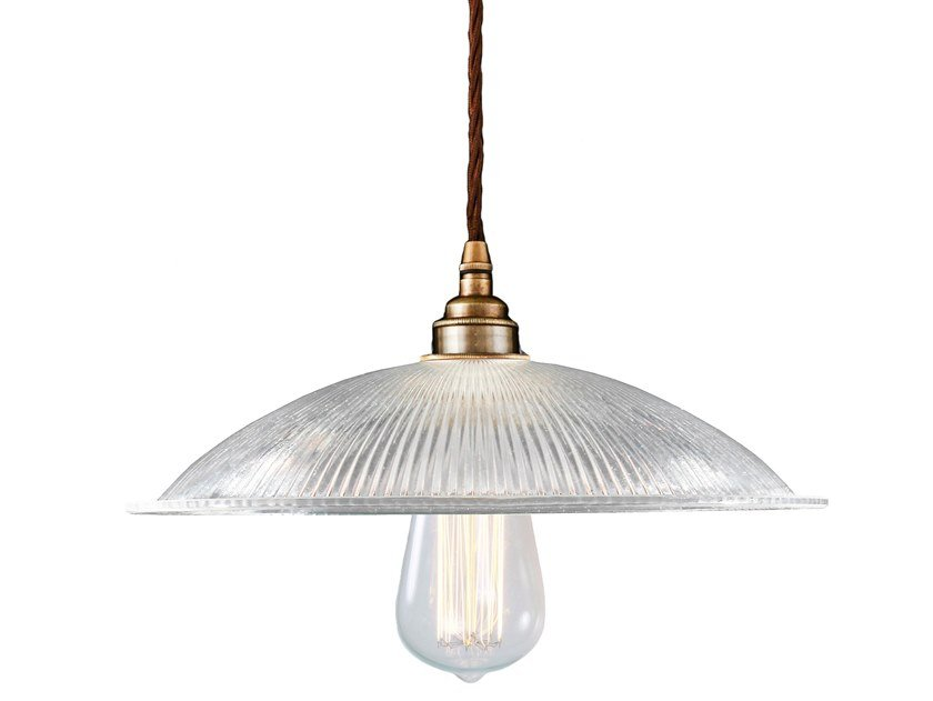 Direct light handmade glass pendant lamp CALIX | Pendant lamp by Mullan Lighting