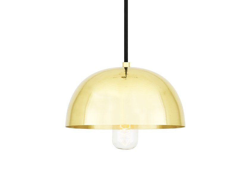 Direct light handmade brass pendant lamp MAUA 20CM by Mullan Lighting