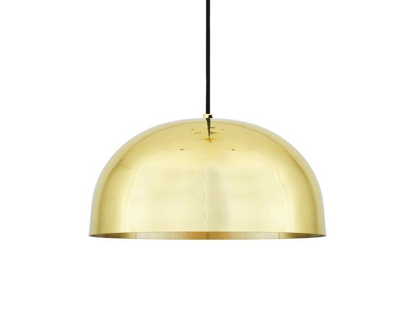 Direct light handmade brass pendant lamp MAUA 40CM by Mullan Lighting