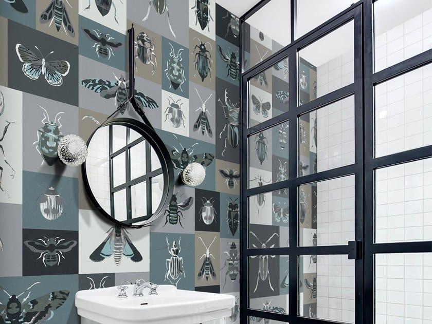 Papel de parede ecológico de tecido não tecido BUGS by Wallpepper Group