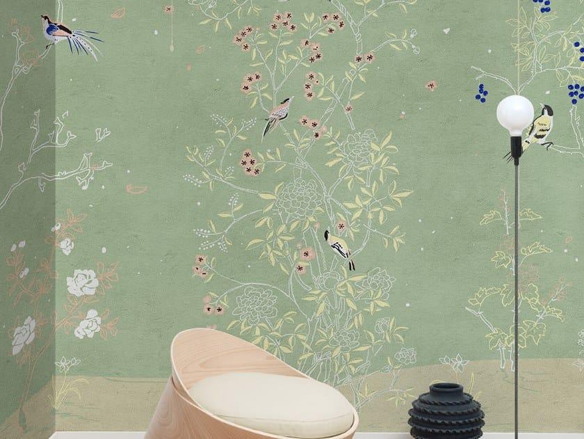 Papel de parede ecológico de tecido não tecido AROMATICO GROVIGLIO by Wallpepper Group