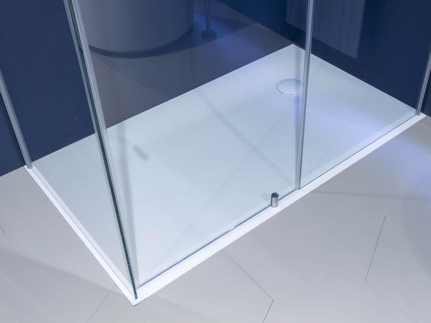 Extra flat Corian® shower tray 00 | Shower tray by Antonio Lupi Design