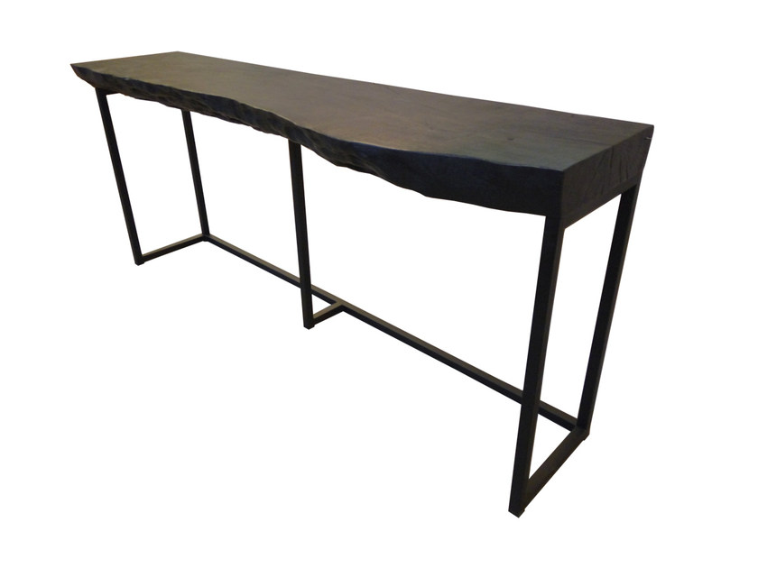 Rectangular Lychee wood console table MOBILIER D'INDONÉSIE | Console table by CFOC