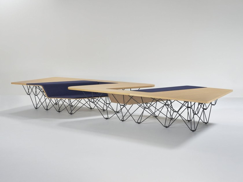 Wooden meeting table #005.02 SIT TABLE | Wooden meeting table by PROOFF