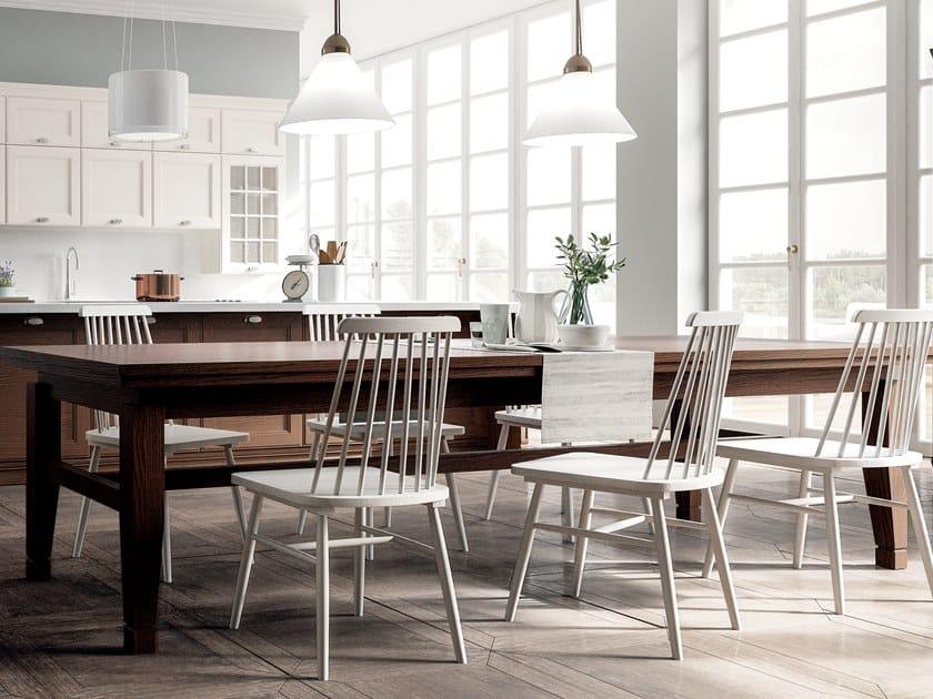 Rectangular table SETTECENTO by GD Arredamenti