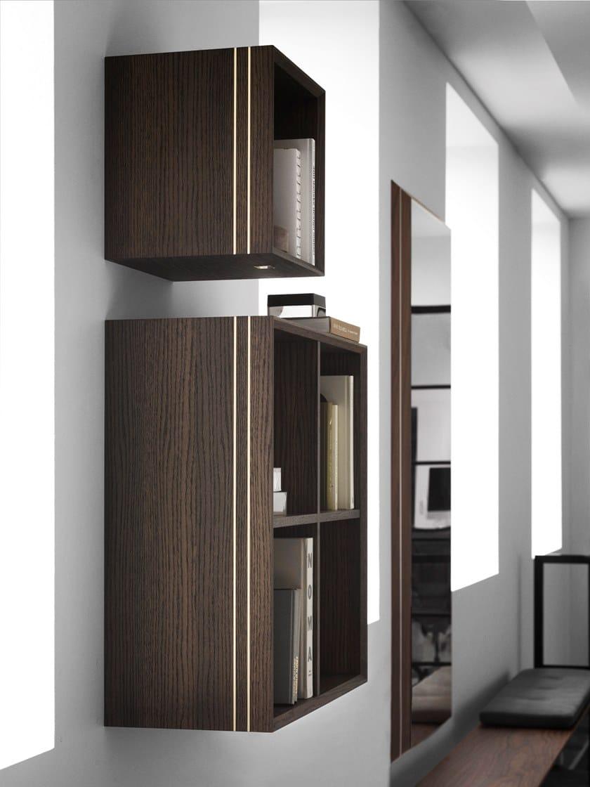 Famiglia Parete Sospesa Furniture Rovere La A In 0630Libreria 8XOkN0nwP