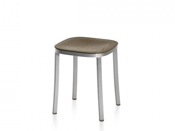 Low plywood stool 1 INCH | Plywood stool by Emeco
