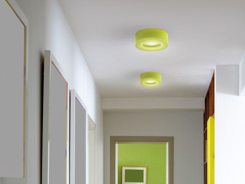 LED polycarbonate ceiling lamp 1 by Lombardo