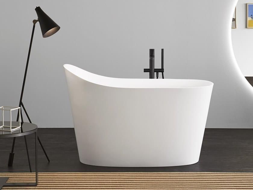 Oval Flumood® bathtub MASTELLO by Antonio Lupi Design