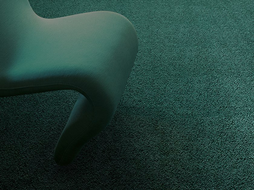 Solid-color polyamide carpeting DIANA by Besana Moquette