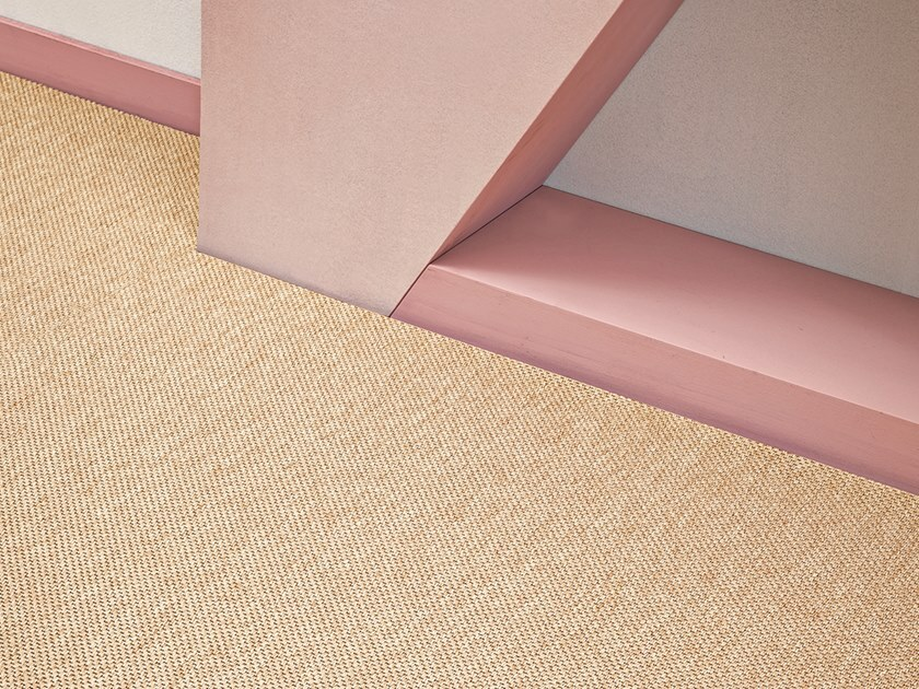 Solid-color polyamide carpeting ISCHIA SUPER by Besana Moquette