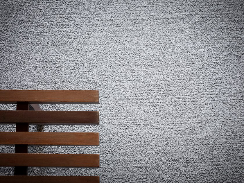 Solid-color polyamide carpeting SAND by Besana Moquette