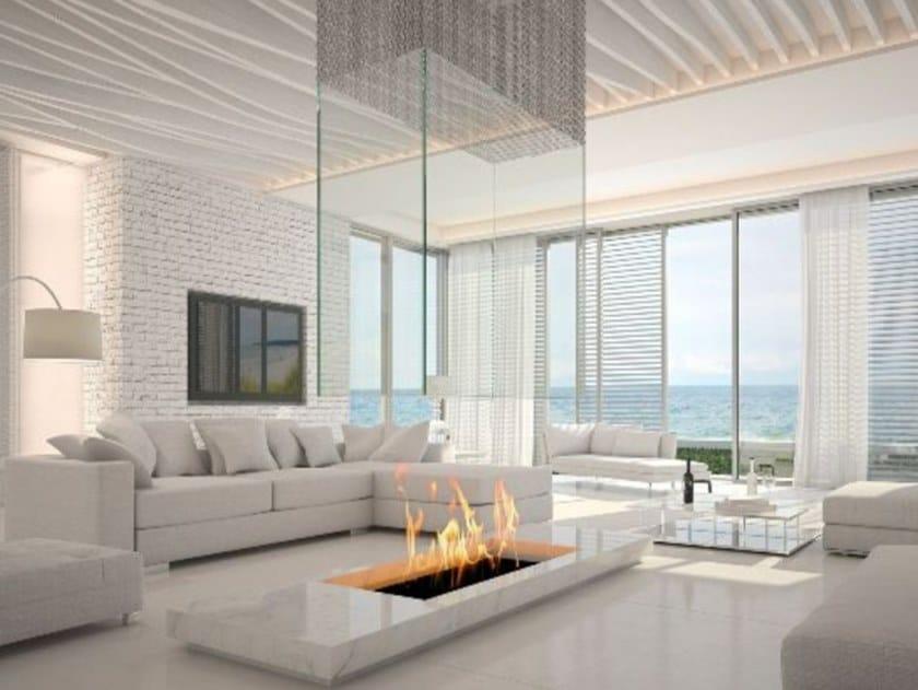 Central bioethanol fireplace CUSTOM | Fireplace by bioKamino