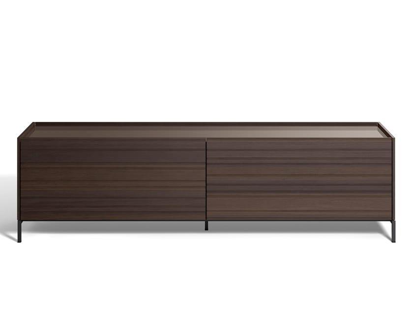 Wooden sideboard COMBI | Sideboard by DE PADOVA