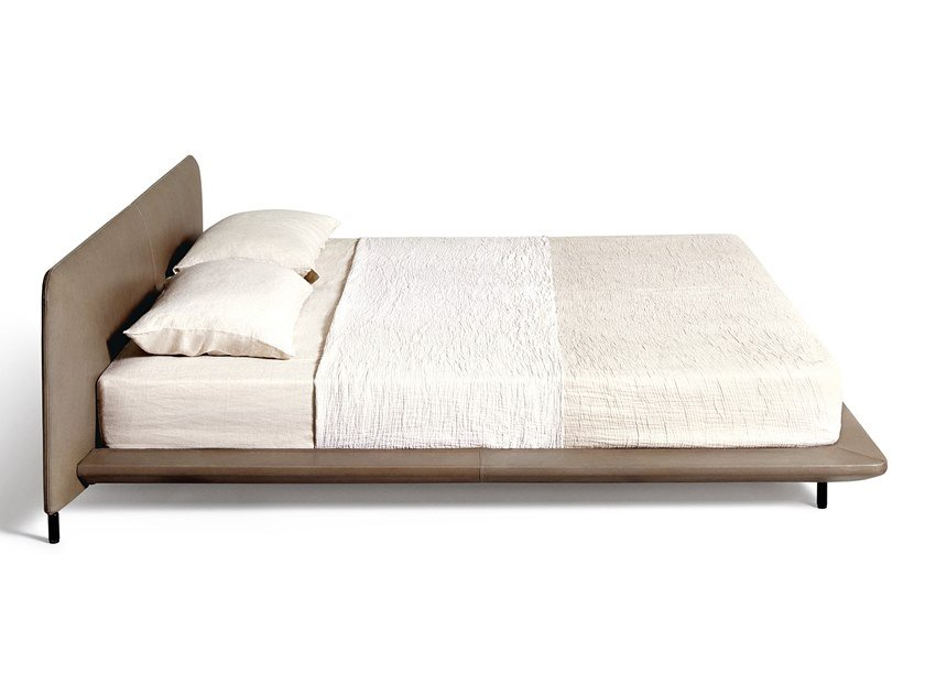 Fabric double bed BLENDY   Bed by DE PADOVA