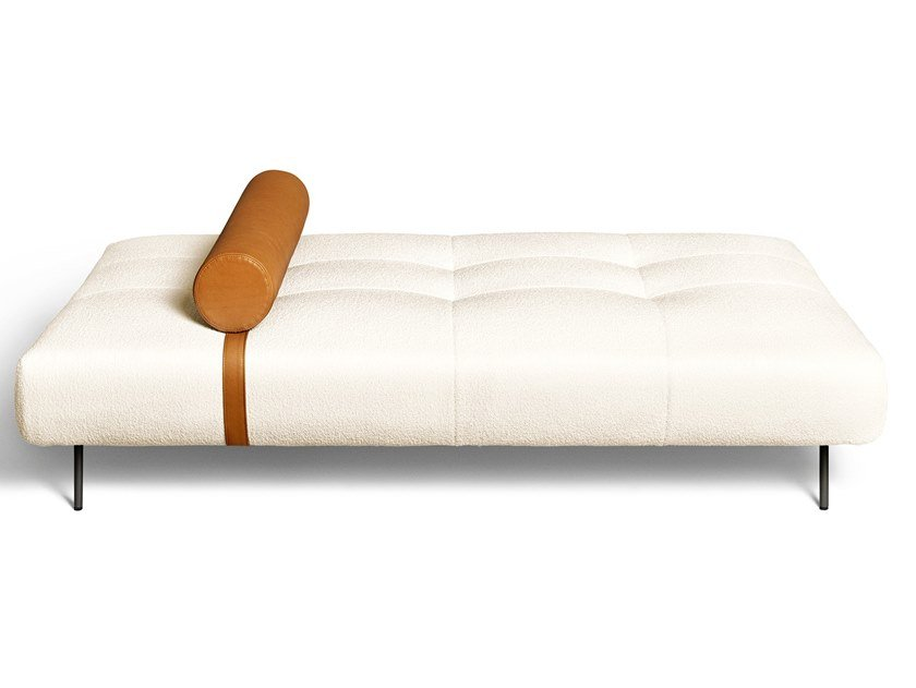 Upholstered fabric day bed EREI | Day bed by DE PADOVA