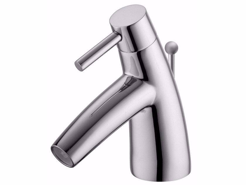 Countertop single handle 1 hole chromed brass washbasin mixer TAI CHI | 1 hole washbasin mixer by JUSTIME