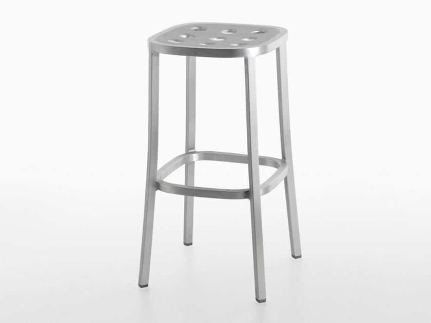 Sgabelli In Alluminio Per Bar.1 Inch All Aluminum Sgabello Da Bar Collezione 1 Inch By