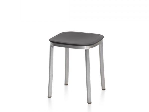 Low polypropylene garden stool 1 INCH   Polypropylene stool by Emeco