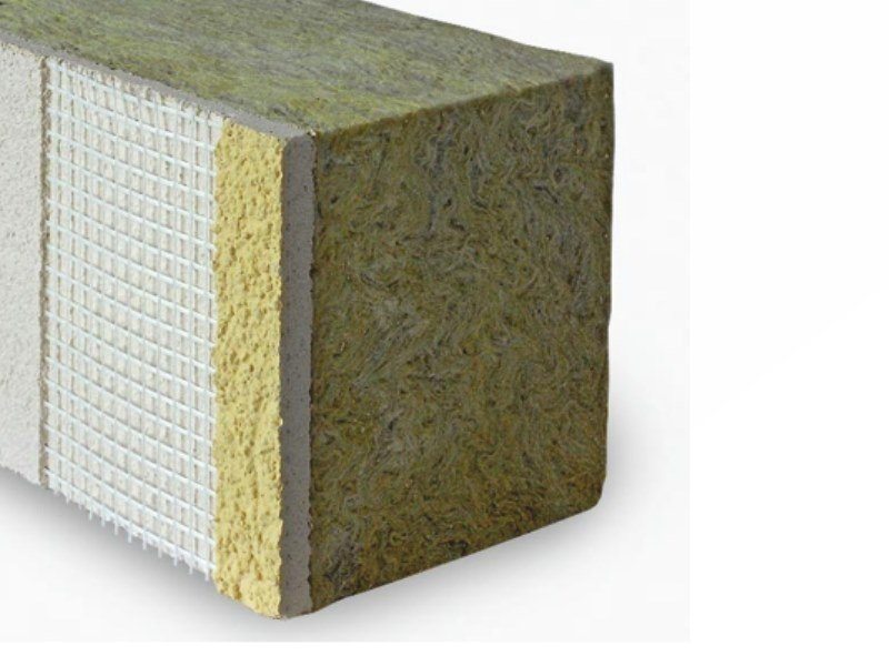 Rock wool Exterior insulation system Rock wool Exterior insulation system by Isolmec