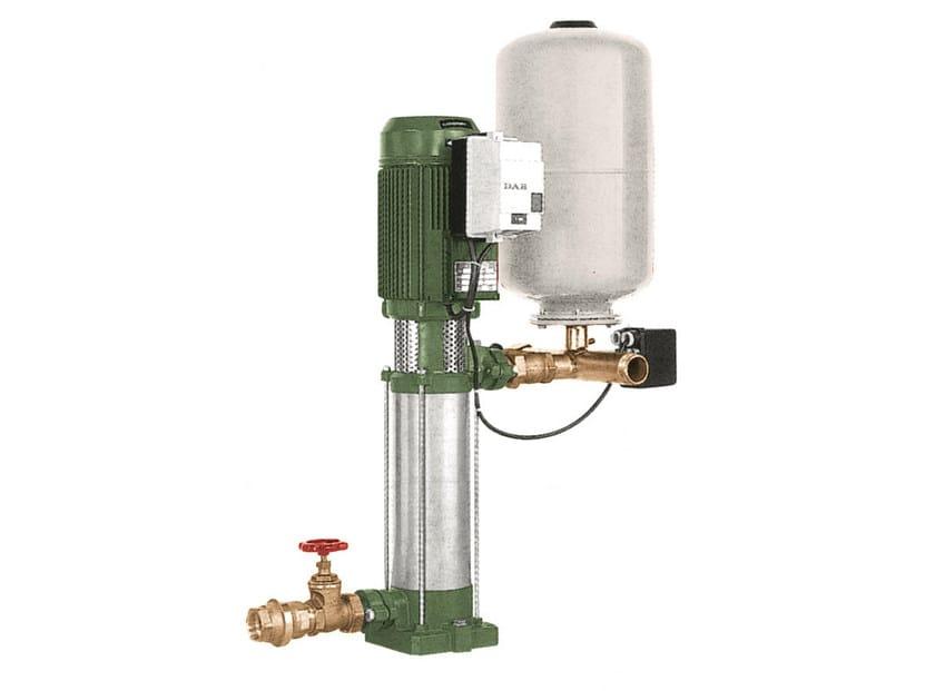 Gruppo di sollevamento con 1/2/3 pompe verticali 1 KV 3-6-10 by Dab Pumps