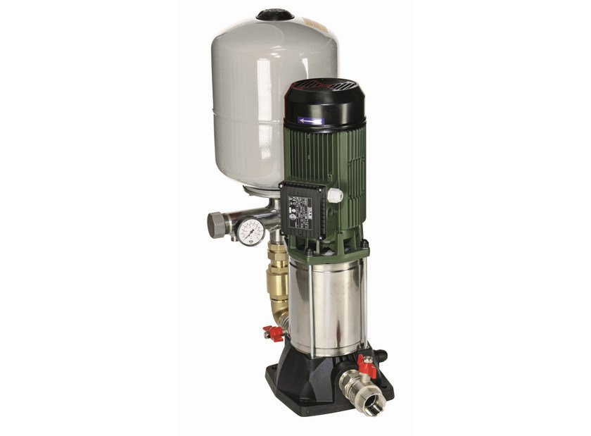 Set with 1 vertical multistage centrifugal pump 1 KVC by Dab Pumps