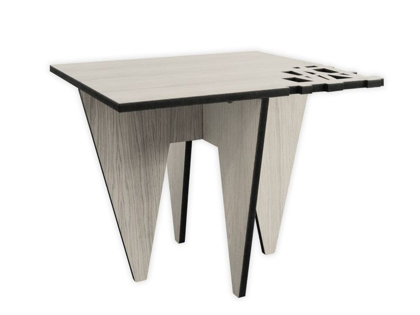 Low square MDF coffee table G-391   Coffee table by LAS