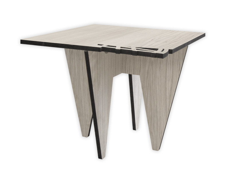 Low square MDF coffee table G-400 | Coffee table by LAS