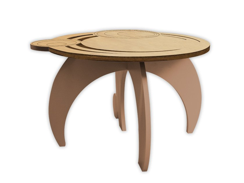 Low MDF coffee table MW-282 | Coffee table by LAS