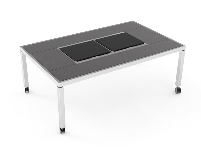 Dining table with cooling and warming modules Warming&Cooling Dining table by La tavola