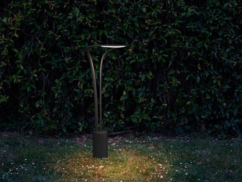 Table lamp / bollard light AMIDABA | Table lamp by LUCEPLAN