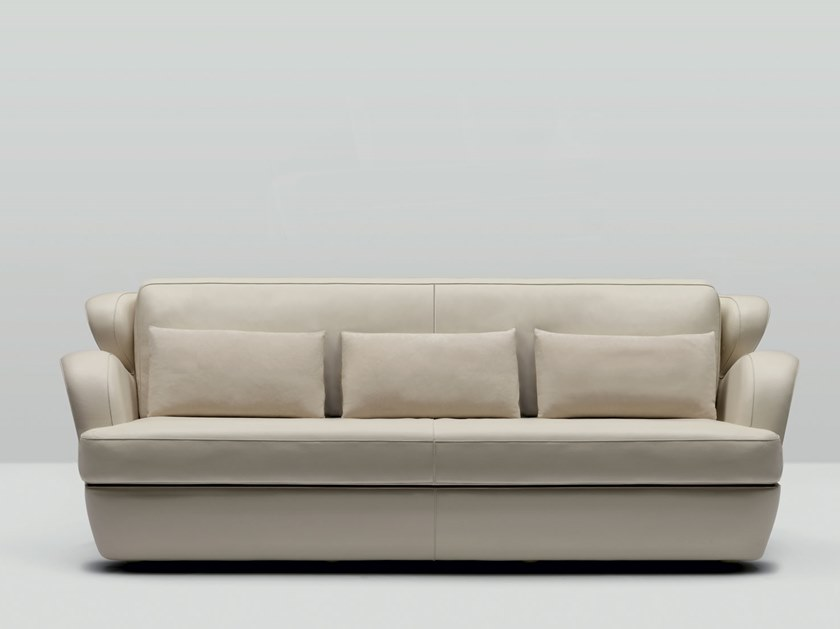 3 seater leather sofa MORGANA | 3 seater sofa by Mascheroni
