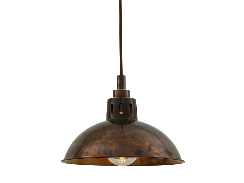 Handmade brass pendant lamp TALISE | Pendant lamp by Mullan Lighting