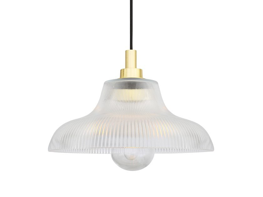 Direct light handmade glass pendant lamp AQUARIUS 30CM | Pendant lamp by Mullan Lighting