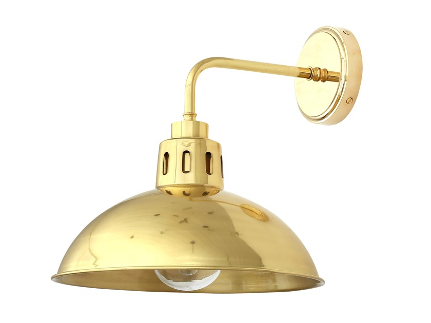 Direct light brass wall lamp for bathroom TALISE | Wall lamp for bathroom by Mullan Lighting